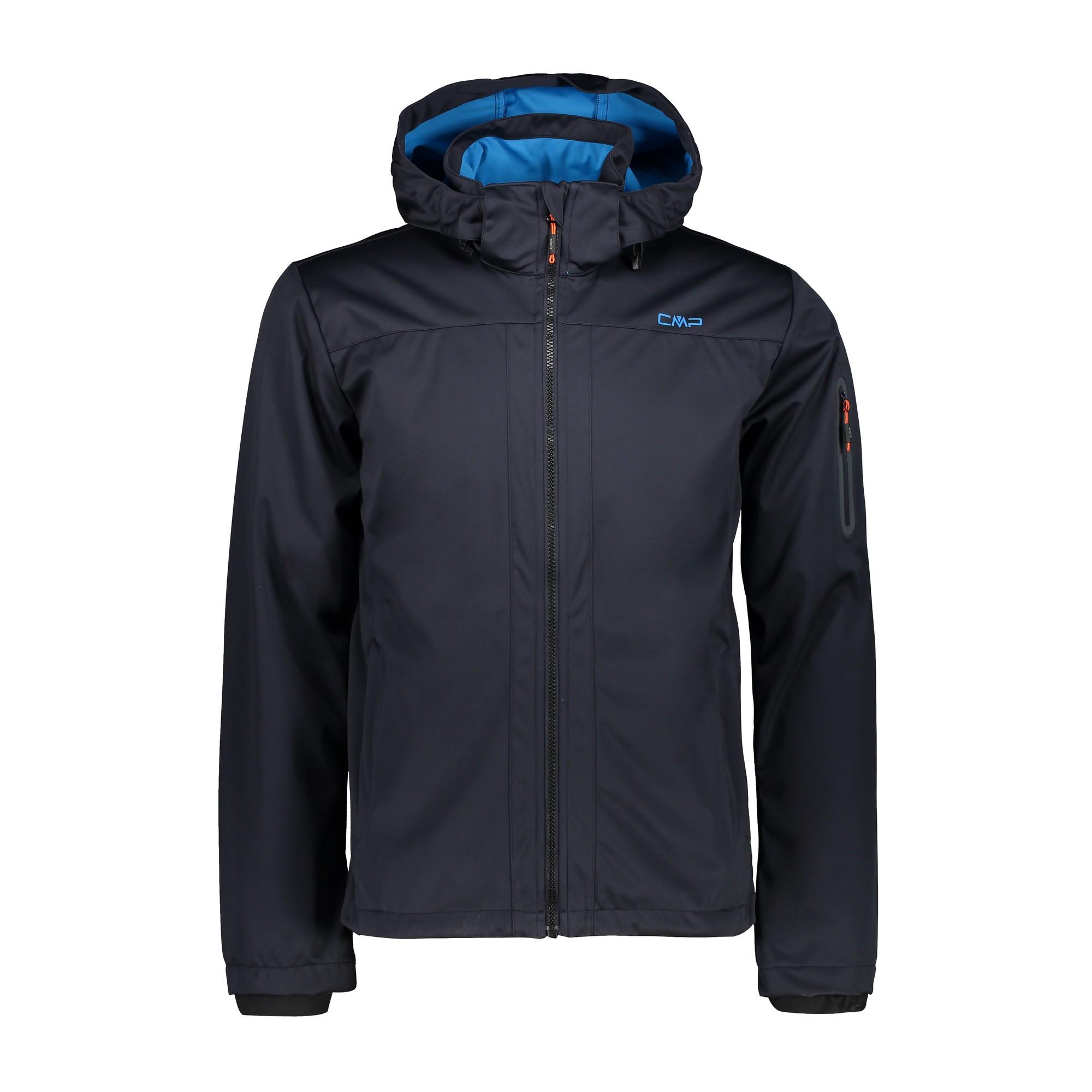 Details zu CMP Man Jacket Zip Hood Herren Softshelljacke (39A5027)