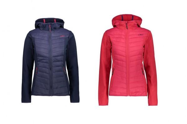 CMP Woman Jacket FIX Hood HYBRID - Damen Outdoorjacke