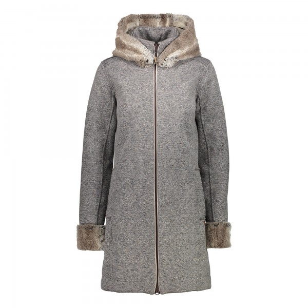 CMP Woman Jacket Fix Hood - Damen Winterjacke