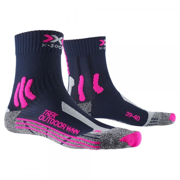 X-SOCKS® 4.0 TREK OUTDOOR WOMEN - Wandersocken / Trekkingsocken - 2 Paar