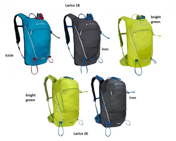 Vaude Larice 18 oder 26 - Skitourenrucksack (komp. mit OSRAM-Light me up Kit)