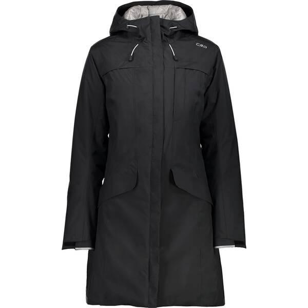 CMP Woman Jacket Fix Hood - Damen Funktionsparka/Mantel