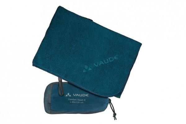 Vaude Comfort Towel II Handtuch M, L oder XL - Mikrofaser-Reisehandtuch